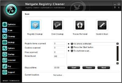 NETGATE Registry Cleaner 5.0.905.0