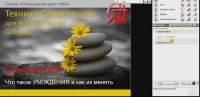 Техники Самогипноза для Формирования Событий (2012) Видеокурс