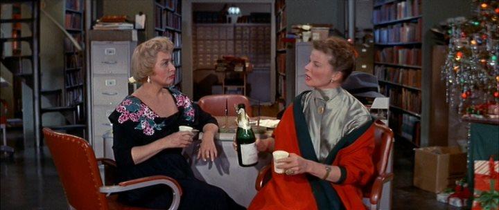 ���������� �������� / Desk Set (1957) DVDRip-AVC