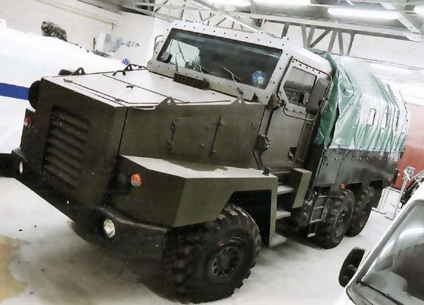 """The project is an armored truck """"Stargazer-Federal-M"""""""