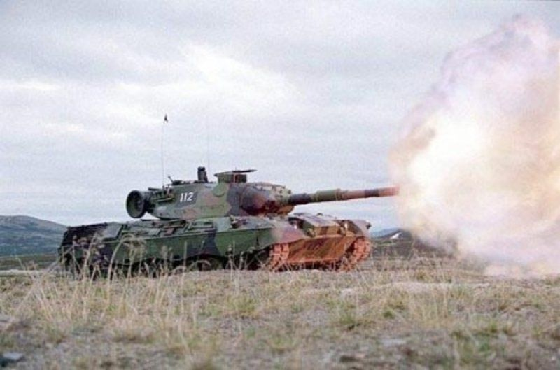 German Leopard 1 main battle tank