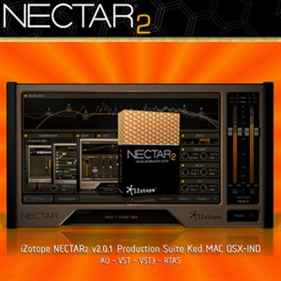 iZotope NECTAR2 v.2.0.1 Production Suite Ked (MAC OSX)