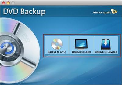 Aimersoft DVD Backup v2.9.2 (Mac OSX)