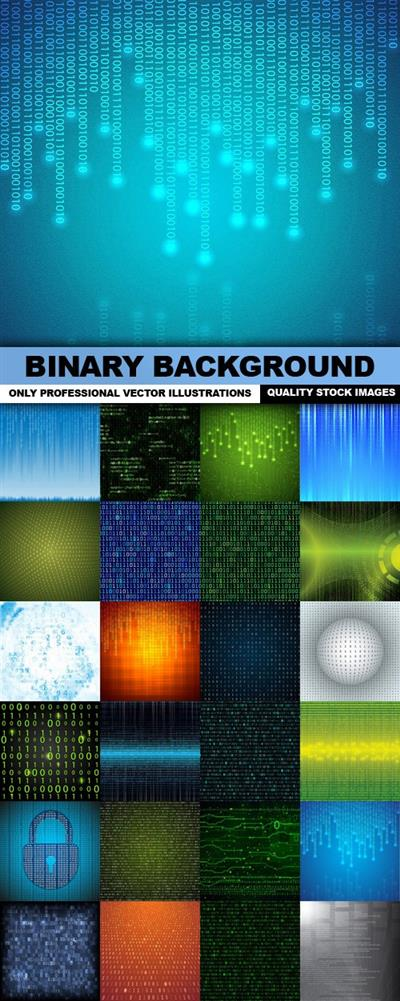 Binary Background - Vectors
