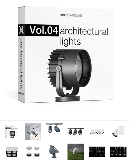Model Plus Model Vol 04 Architectural lights