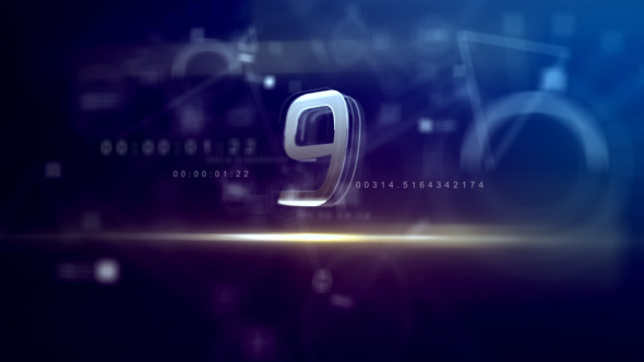 Countdown Videohive - Free Download After Effects 1920x1080 Template