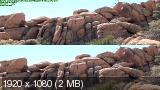 Юго-западная Америка 3D: От Долины смерти до Великого каньона / America's Southwest (2012) BDRip 1080p | 3D-video | halfOU