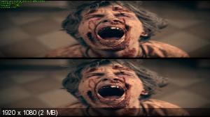 Zомби каникулы 3D  Вертикальная анаморфная