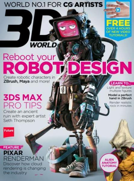 3D World - December 2013 (UK)