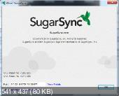 SugarSync, облачное хранилище, клиент