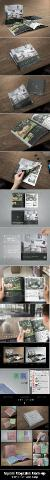 GraphicRiver - Square Magazine Mock-Up