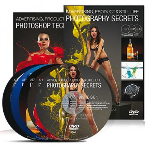 Advertising, Product & Still Life Photography Secrets - Karl Taylor