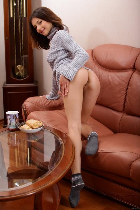 EroticBeauty: Divina A. - Home Alone 1
