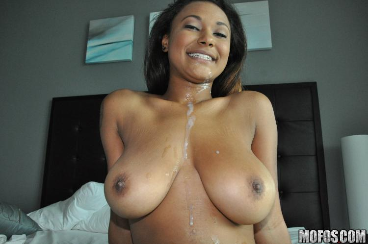 Sierra santos hosing down her sweet tits latina sex tape - 2 9