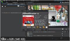 CyberLink PowerDirector 12.0.2420.0 Ultimate + Content Pack Premium