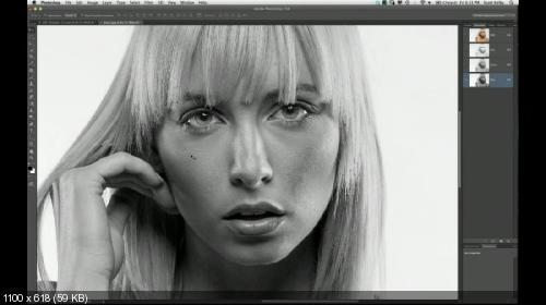 Профессиональная портретная ретушь для фотографов (2013)
