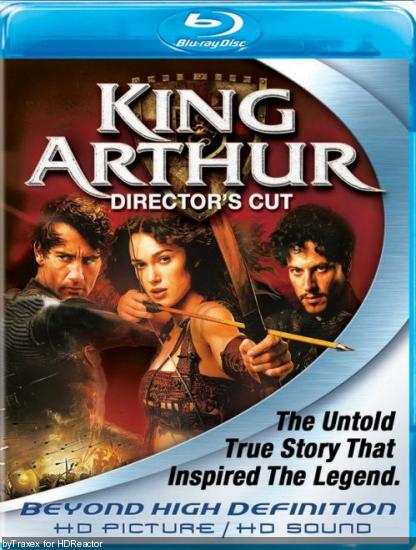 Король Артур (Режиссерская версия) / King Arthur (Director's Cut) (2004) Blu-Ray 1080p