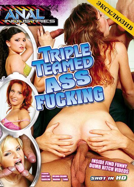 Triple Teamed Ass Fucking (2013/DVDRip)