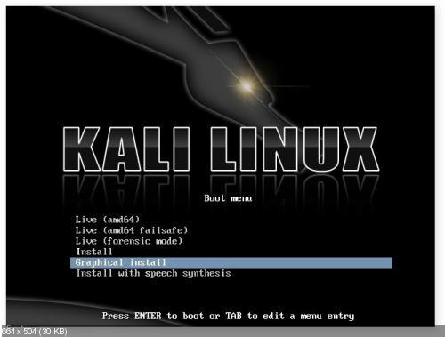 Kali Linux 1.0.6 [i386, amd64] 4xDVD