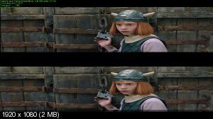 Вики, маленький викинг 2 / Wickie auf grosser Fahrt (2011) BDRip 1080p от Ash61 | 3D-Video | halfOU | L1