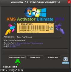 KMS Activator Ultimate 2014 v1.8