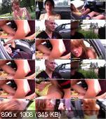 Дал девчонке поводить машину