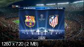 Футбол. Лига Чемпионов 2013-2014. 1/4 финала. Первый матч. Барселона (Испания) - Атлетико (Испания) [01.04] (2014) HDTVRip 720p
