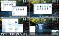 Aero 3D Exclusive Skin Pack for Windows 7 & Windows 8