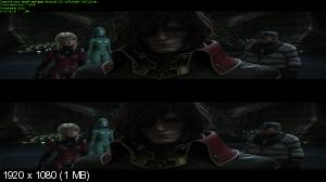 ����������� ����� ������ / Space Pirate Captain Harlock (2013) BDRip 1080p | DUB | AVO | 3D-Video | halfOU | ��������