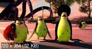 Пингвины Мадагаскара (2014) BDRip