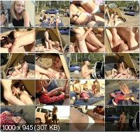 CollegeFuckParties - Allison, Nova, Hailey - Summer Bash With Slutty College Part 2 [SD]