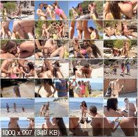 CollegeFuckParties - Agnessa, Carla, Leila - Real Sex Party On The Sunny Beach Part 2 [HD 720p]