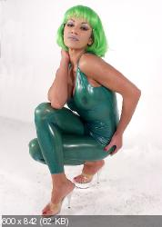 347 Natasha In Spring Green Look.zip