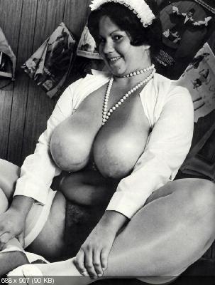 грудастые женщины ретро-фото